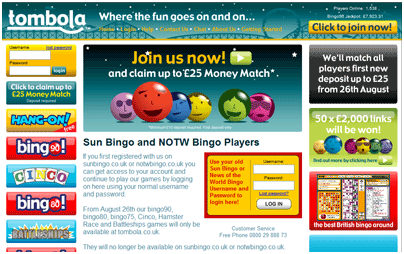 Online Bingo United Kingdom