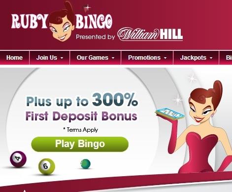 Online Bingo Site Ruby Bingo